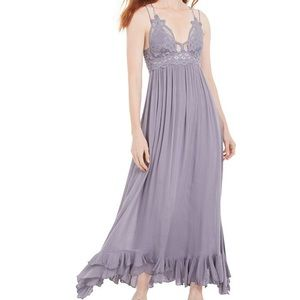 Free People Adella Maxi Dress Lilac purple